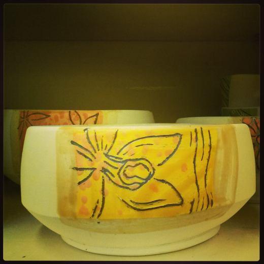 vanilla orchid bowl