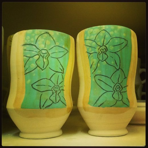 orchid tumblers